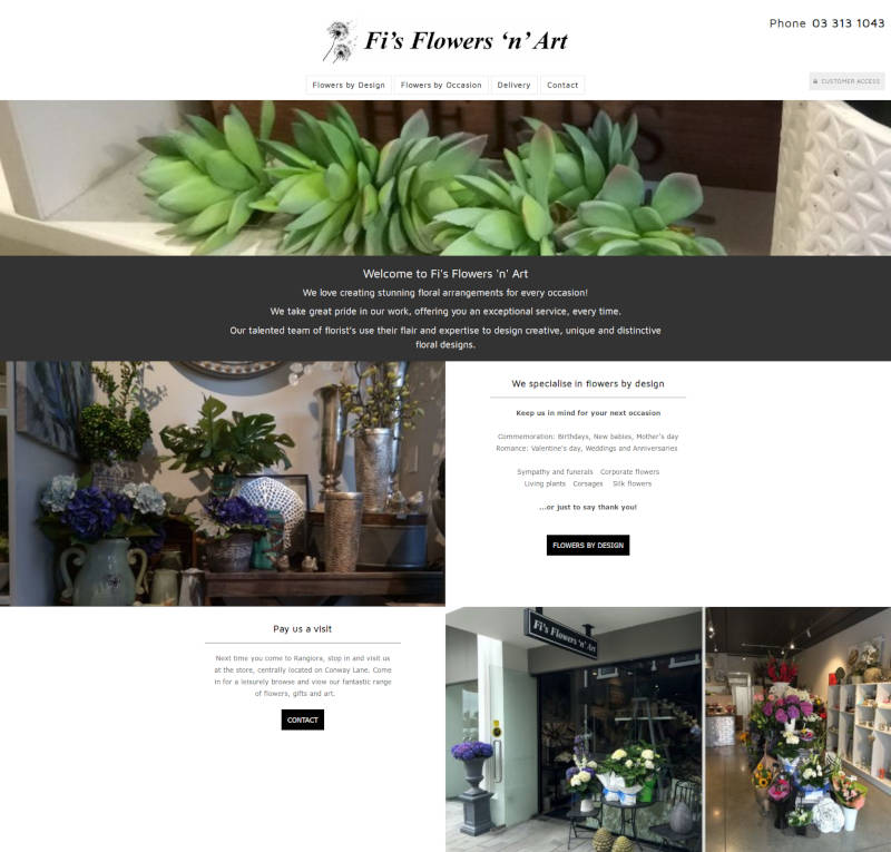 Fi's Flowers and Art