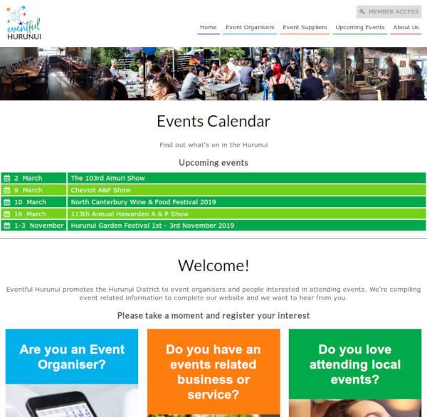 Eventful Hurunui - event calendar & business listings