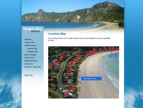 Taupo Bay Rentals