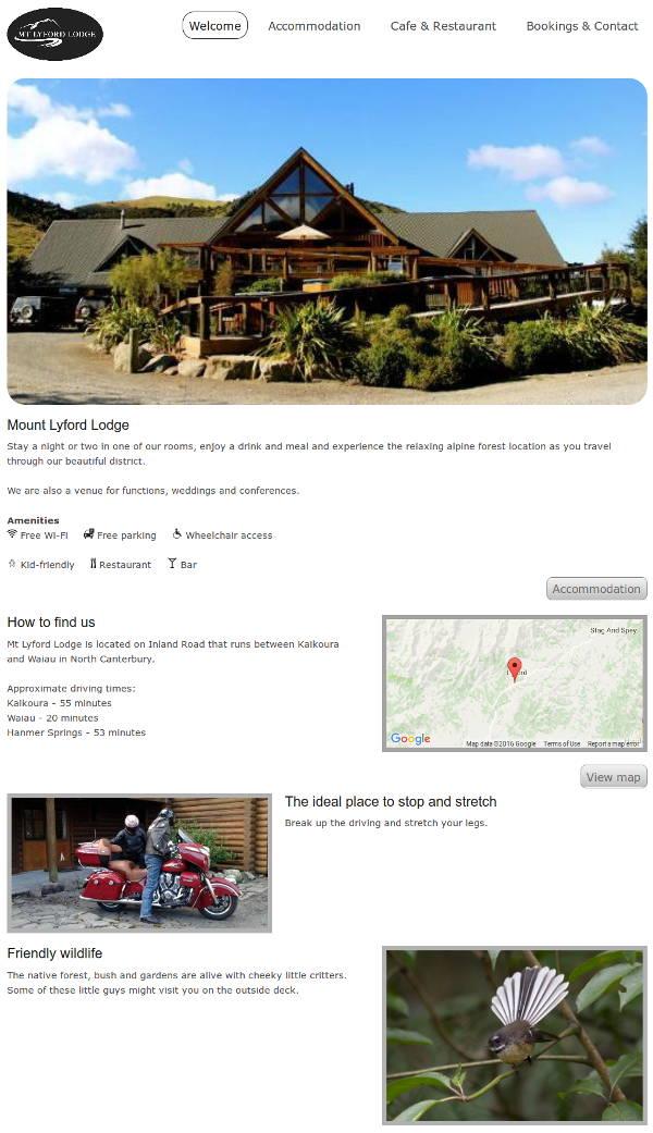 Mount Lyford Lodge