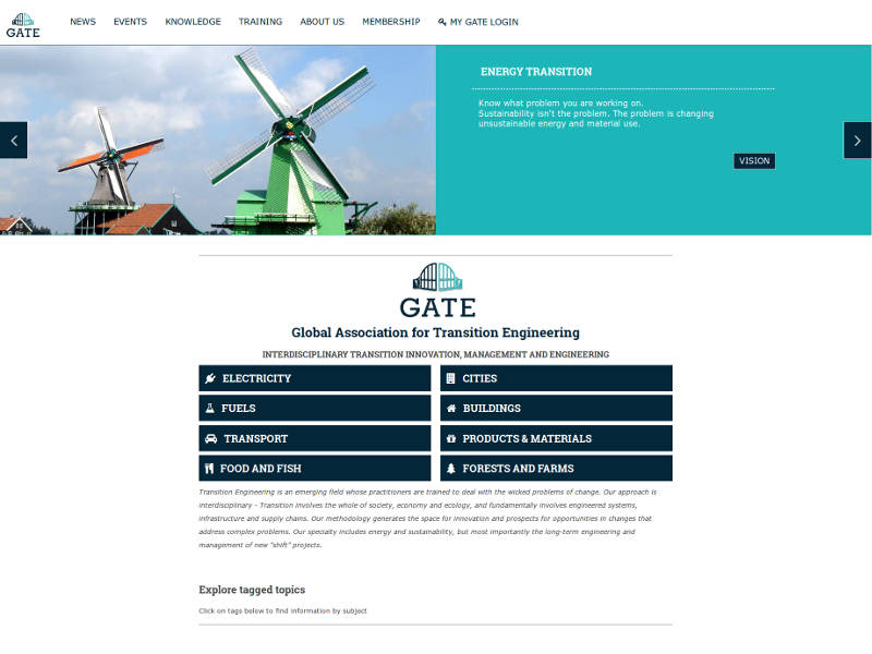GATE - Global Association for Transition Engineering