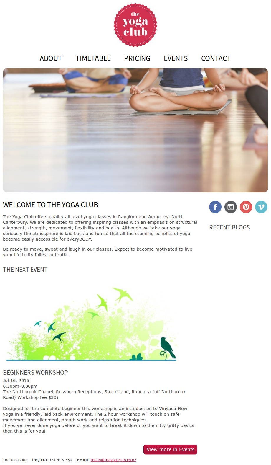 The Yoga Club